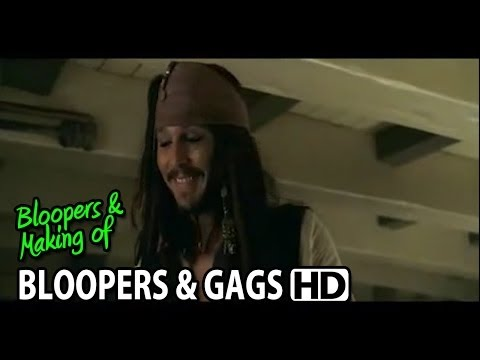 Pirates Of The Caribbean: At World's End (2007) Bloopers Outtakes Gag Reel (Part1/2)
