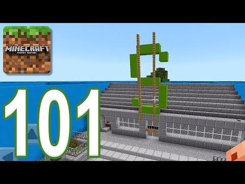 Minecraft: PE - Gameplay Walkthrough Part 101 - Find The Button: City Edition (iOS, Android)