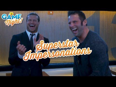 Superstar Impersonation Challenge: WWE Game Night