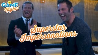 Superstar impersonation challenge: WWE Game Night