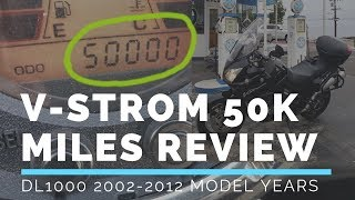 V-Strom 50000 Mile In Depth Review