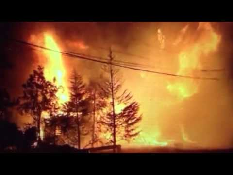 "California ""Wildfires"" Thousands Flee"
