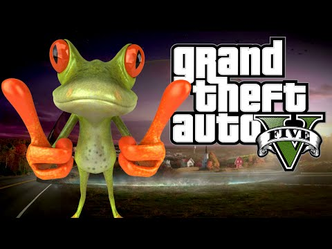 Grand Theft Rana - EL MISTERIO DEL DOMO!! The Amazing Frog? | Ep #3
