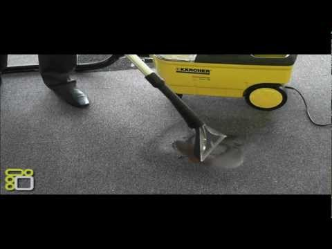 Karcher PUZZI 100 Demonstracja