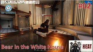 Heat E02 - New Survival Game - Becoming President - Bear in the whitehouse - Building mechanics