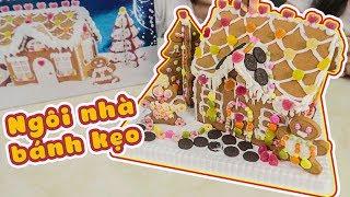 Cùng làm Ngôi Nhà Bánh Kẹo Gingerbread House đón Noel với ToyStation