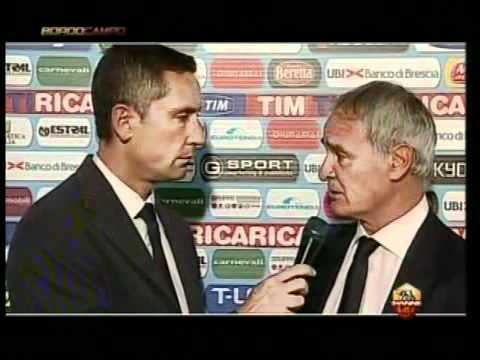 Claudio Ranieri dopo Brescia - Roma