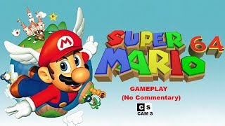 Super Mario 64 Gameplay No Commentary