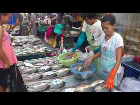 Bangkok Market.