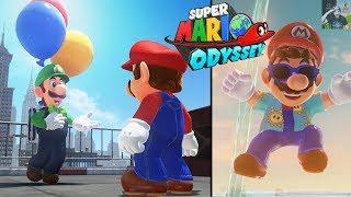 Super Mario Odyssey   Luigi
