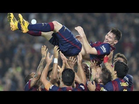 Messi, el mayor goleador de la Liga