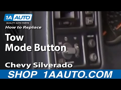 1AAuto.com Fix Tow Haul Mode Button Chevy Silverado Tahoe GMC Sierra 99-02