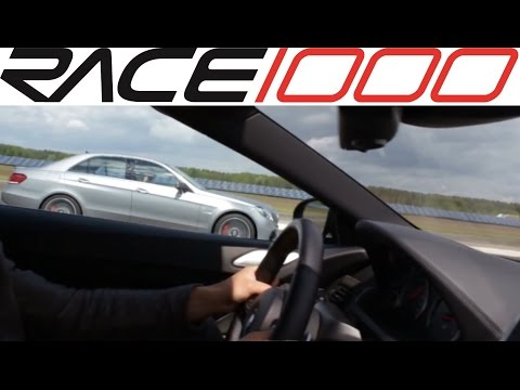 BMW M6 F12 vs. Mercedes AMG E63 S 4Matic