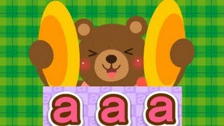 A,B,C,D,E,F,G,H,I,J,K,L - ABC Phonics Chant Song 1