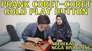 Download Lagu PRANK CORET-CORET GOLD PLAY BUTTON ! GONE WRONG :( Gratis STAFABAND