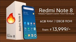 Redmi Note 8 - Price, Specification, Launch Date In India | #RedmiNote8