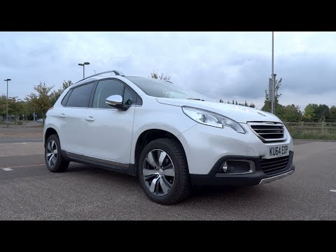 2014 Peugeot 2008 1.6 e-HDi 92 S&S Allure Start-Up and Full Vehicle Tour
