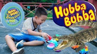 Kẹo Hubba Bubba, Cá Sấu và Hà Mã Đồ Chơi ❤ BonBon TV ❤