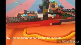 Lego build time lapse(Jemain Clement and Kristin Chenoweth I will Survive soundtrack from Rio)