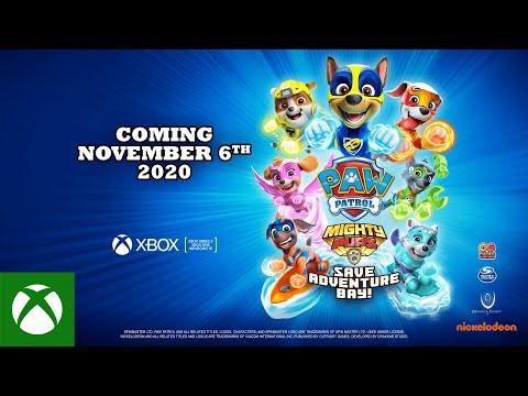PAW Patrol Mighty Pups Save Adventure Bay | Announce Trailer