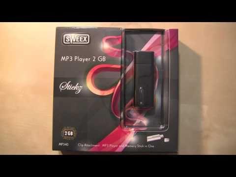 Sweex Stickz mp3 Player und USB Stick Verlosung