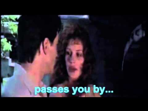 "[Movies Love Quotes] MY BEST FRIEND'S WEDDING - ""Otherwise The Moment Just... Passes You By."""