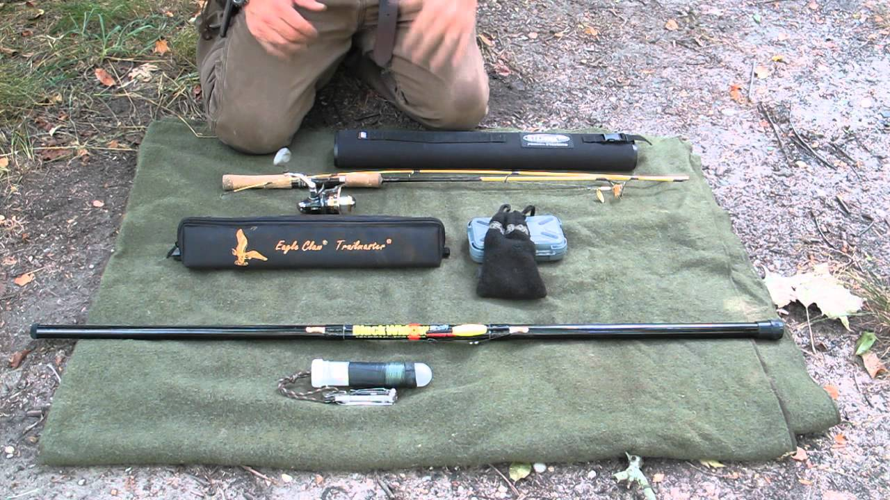 On the waters edge part 1 compact fishing rods and systems for Compact fishing rod