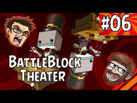 "BattleBlock Theater w/ Agentc0re | ""For Freedom!"" 