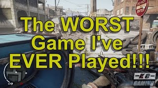 The Worst Game I've EVER Played: Homefront: The Revolution (PS4)