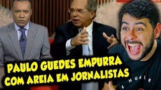 Paulo Guedes acaba com hipocrisia de jornalistas!