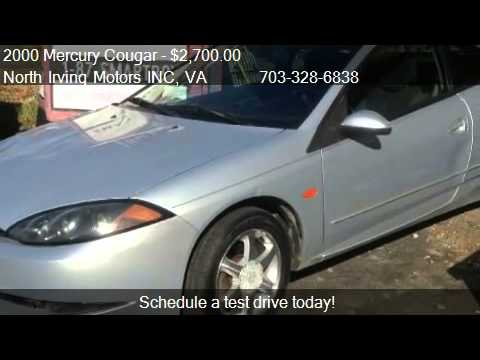 2000 Mercury Cougar V6 - for sale in Fredericksburg , VA 224