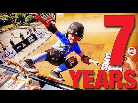 Lil Tony Hawk! 7 Years Old