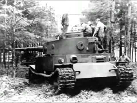 Немецкий танк «Тигр». Документальное видео