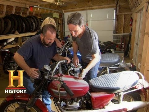 American Pickers Motorcycle Find Disrespect1stcom