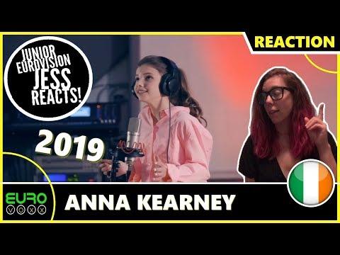 IRELAND JUNIOR EUROVISION 2019: Anna Kearney - Banshee | JESS REACTS!
