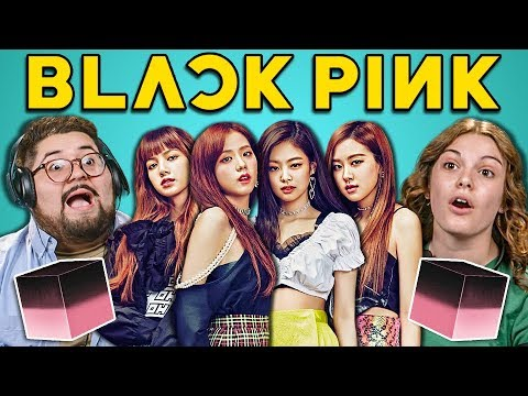 COLLEGE KIDS REACT TO BLACKPINK