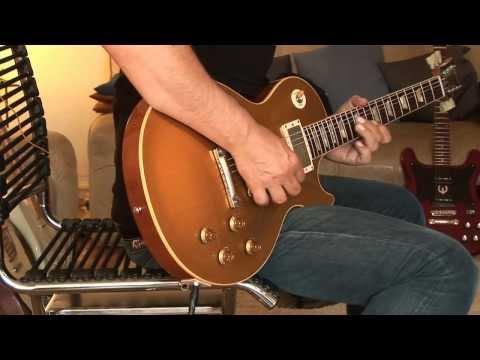 No2: 2012 Gibson Les Paul Custom Shop Lee Roy Parnell Signature 1957 Reissue Goldtop Part3