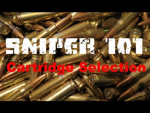 SNIPER 101 Part 3 - Cartridge Selection -- Rex Reviews