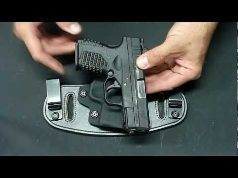Springfield XDs with Hidden Hybrid Holsters