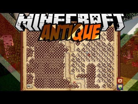 Minecraft mody ANTYCZNA MAPA SKARBÓW TYLKO DLA PODRÓŻNIKÓW