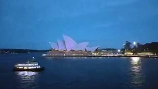 Time lapse Opera House Turns Purple #WPCD