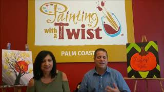 Weekend Events with Cindy at Painting With a Twist!