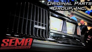 New Parts for Buick Grand National from OPGI at SEMA 2017 V8TV Video