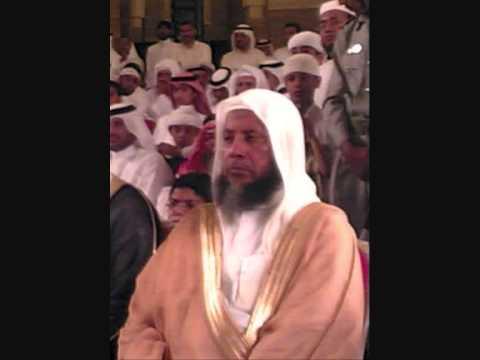 Sheikh Muhammad Ayub reciting to Sheikh Khalil Al Qari