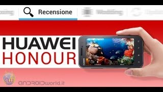 Huawei Honour, recensione completa in italiano by AndroidWorld.it