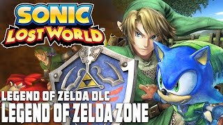 Sonic Lost World (Wii U) - The Legend Of Zelda Zone (DLC) [HD]