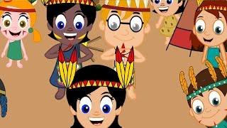Десет малки индианци  - Български детски песни