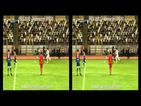 PES 2012 3D analisis review