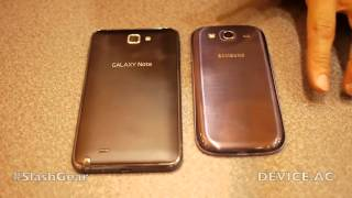Samsung Galaxy S III vs Galaxy Note hands-on (part 1 of 2)