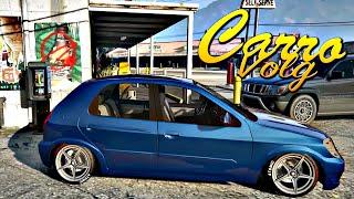GTA V - Carro Vlog - customizando Celta 1.0
